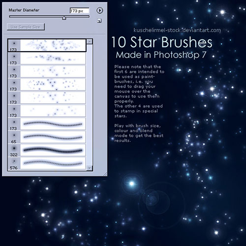 Free_Photoshop_Galaxy-Star_Shinning-Brushes