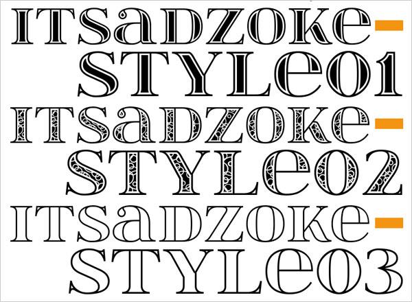 Itsadzoke-Free-Bold-Serif-Font