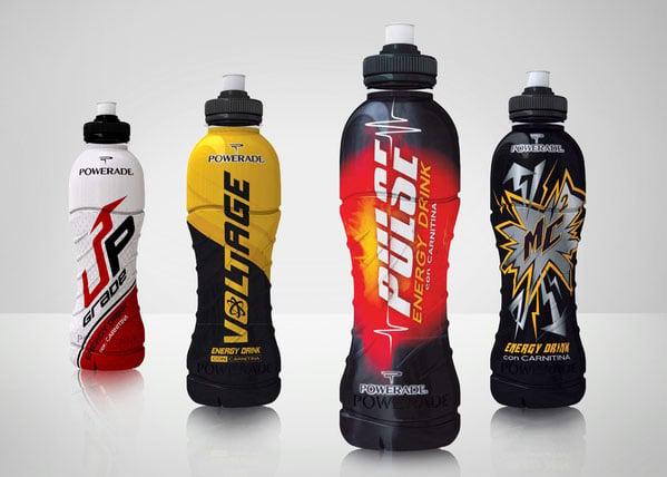 Powerade-Energy-Drink-Packagings