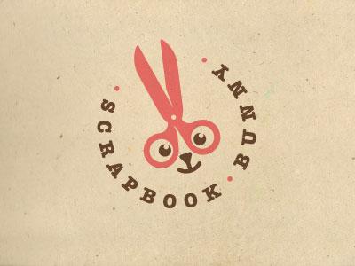 Scrapbook-Bunny-Logo-Design