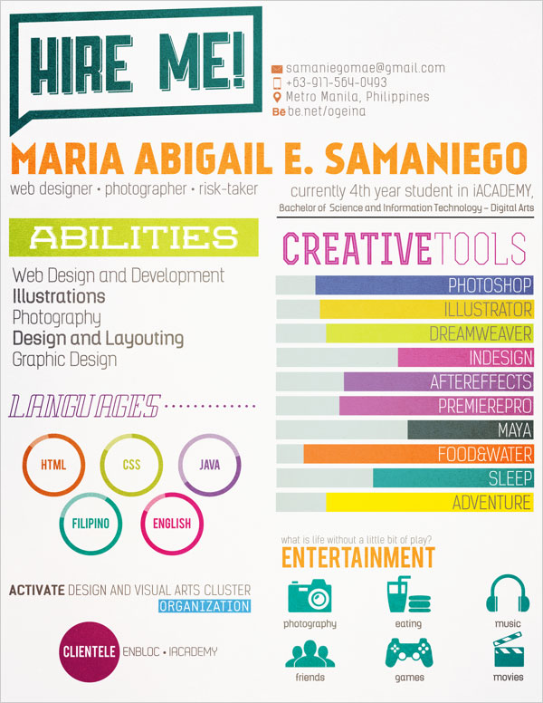 Simple-colourful-Resume-Design
