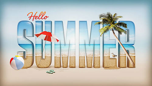 Summer_3D_Text_Effect_Photoshop_CS6_Tutorial