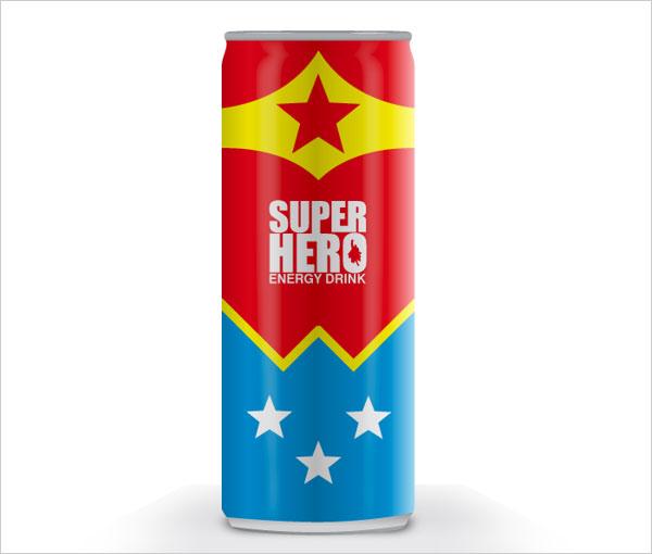 Wonder-Woman-Energy-Drink-Design
