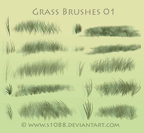 free_photoshop_grass_brushes