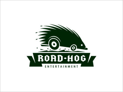 road-hog-entertainment-logo-design
