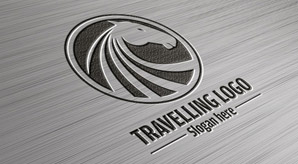 2-Free-Logo-Mock-up-PSD-Steel-&-Wood-Textures