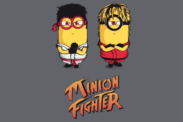 Cute-Minions-Fighter