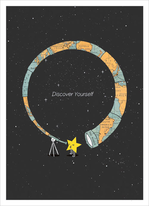 Discover-Yourself-Inspiring-Poster-Design-ilovedoodle