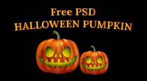 Free-Halloween-2013-Pumpkin-PSD-F
