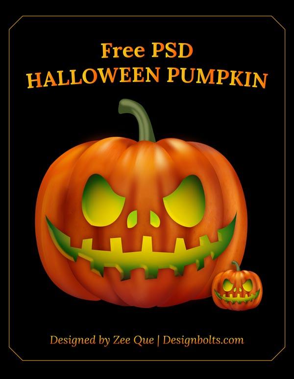 Free-Halloween-2013-Pumpkin-PSD
