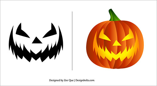 Free-Scary-Pumpkin-Carving Patterns-Ideas-Scary-Pumpkin-Carving-Stencils- (9)