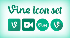 Free-Vector-Vine-Icon-Set-F