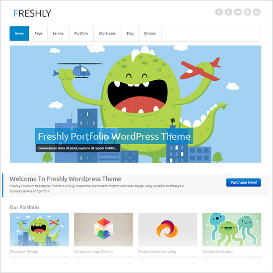 Freshly-simple-premium-business-wordpress-theme-2013