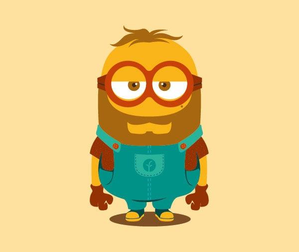 Handsome-Minion-Bearded-Guy