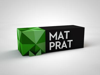 Matprat-3D-Logo-Design