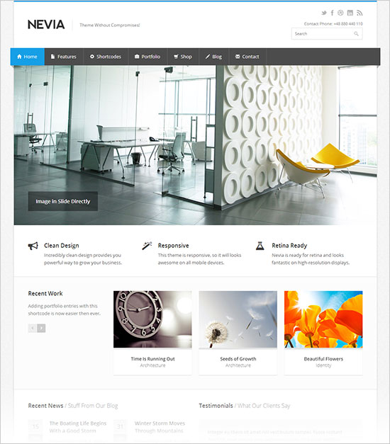 Nevia-premium-business-wordpress-theme
