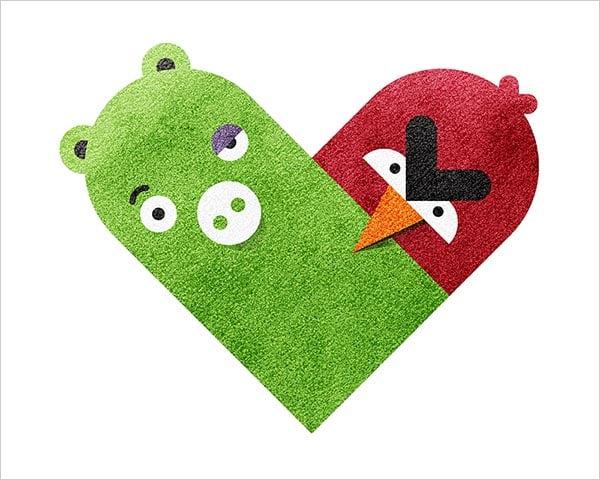 Pig-&-Angry-Bird