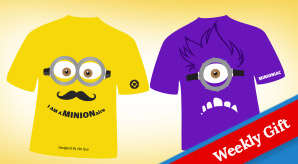 3-Free-Vector-Minion-T-Shirt-Designs