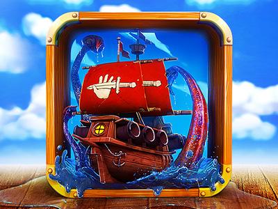 App-Icon-Design---For-Pirate-Ship-Game
