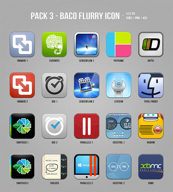 Baco-Flurry-Mac-OS-Icon-set