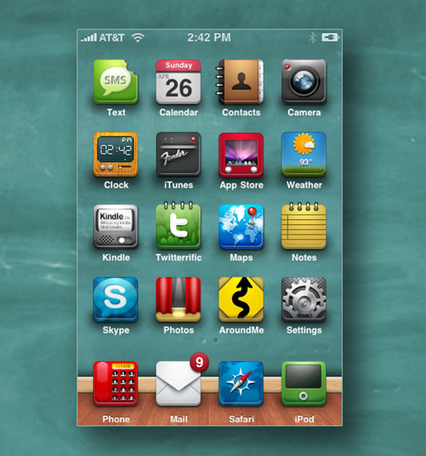 Chalkboard_Theme_for_Eraser_2_iphone-icons