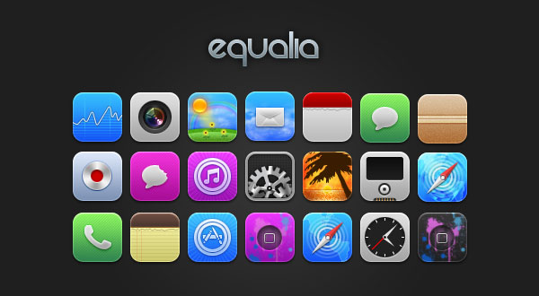 Equalia-iPhone-Icons