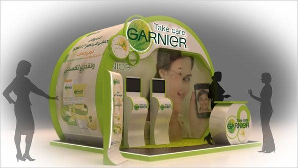 Garnier-booth-Design