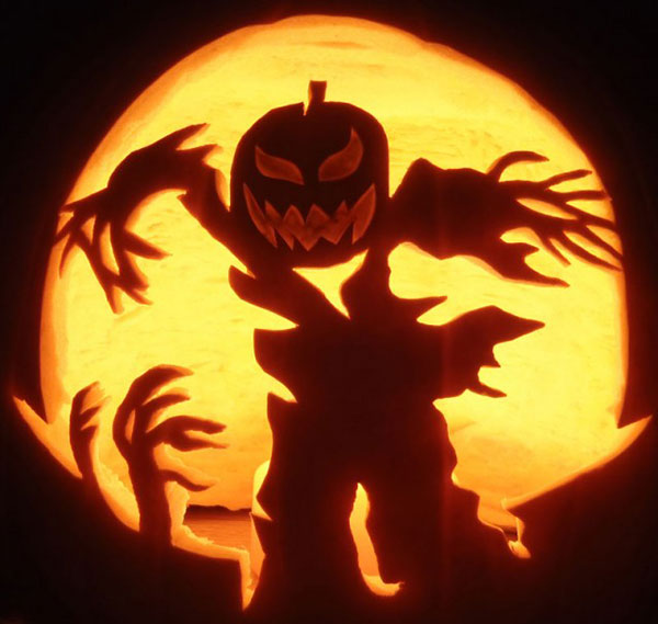 Best cool creative scary halloween pumpkin carving