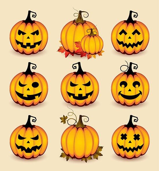 Halloween-Pumpkins-vector