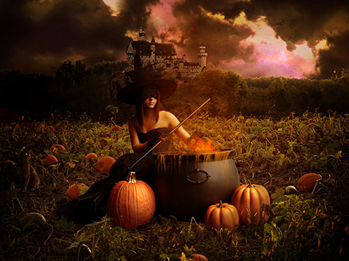 Halloween_Mascarade-Witch-Background