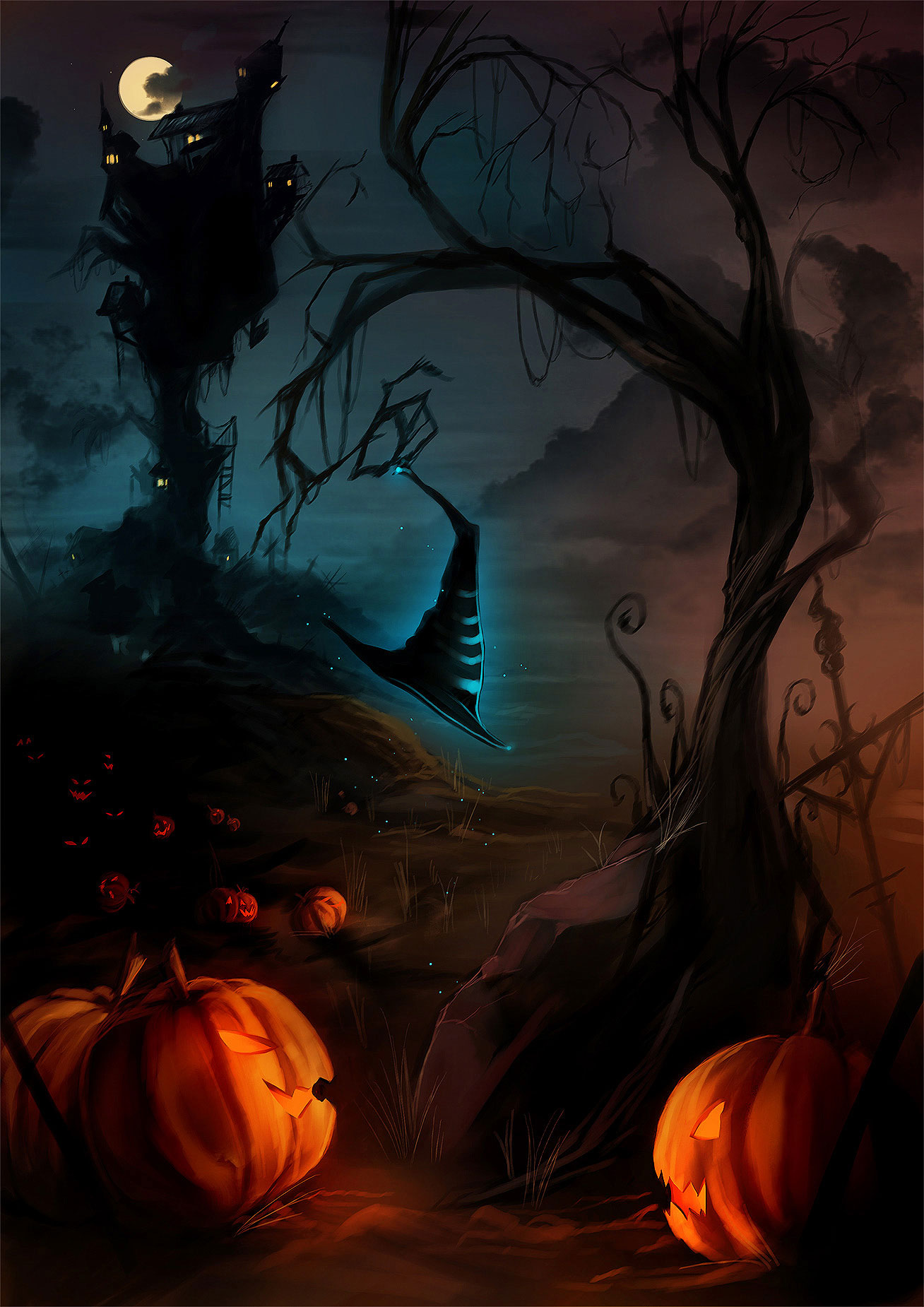 Free Images Person Girl Woman Cute Female Model: Free Halloween 2013 Backgrounds & Wallpapers