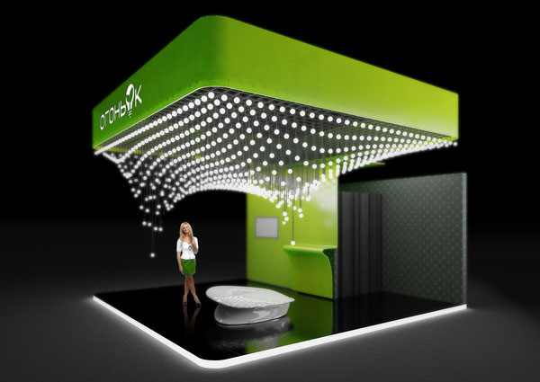 Stands In Expo : Innovative d exhibition designs display stands