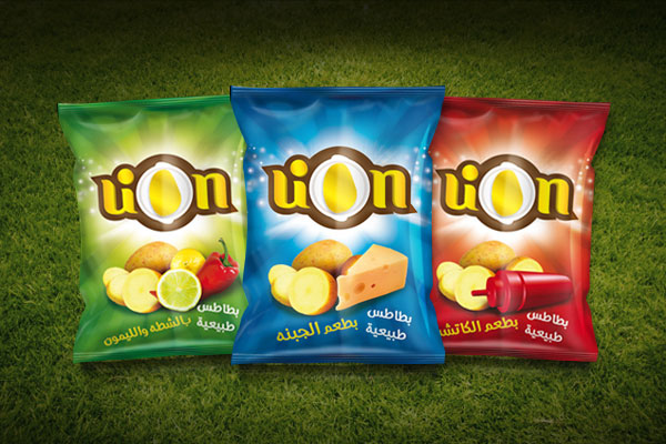 lion potato chips packaging design ideas 4