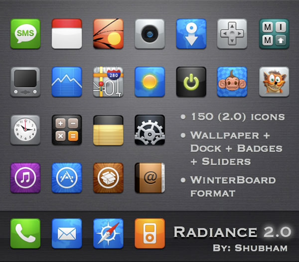Radiance-for-iPhone-icons