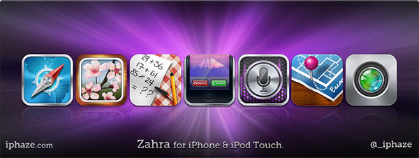 Zahra-iPhone-iPod-Touch-Icons
