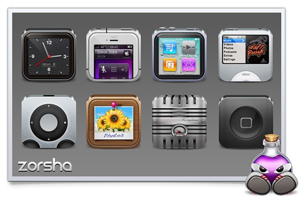 Zorsha_iphone_Icons