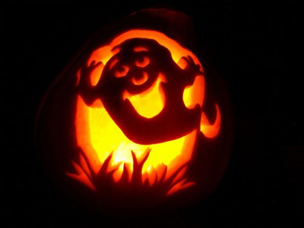 halloween-ghost-pumpkin-Carving-design