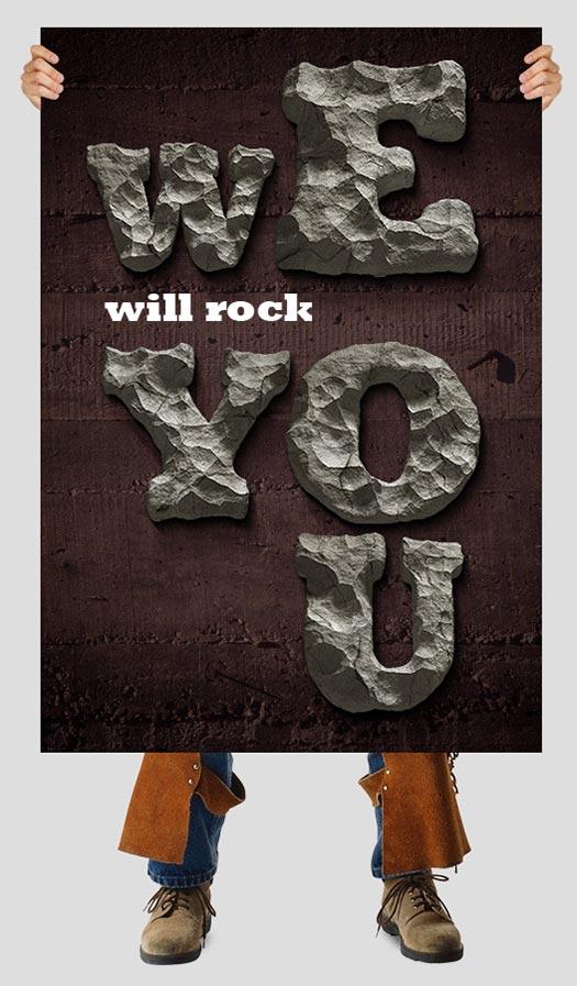 rock-font