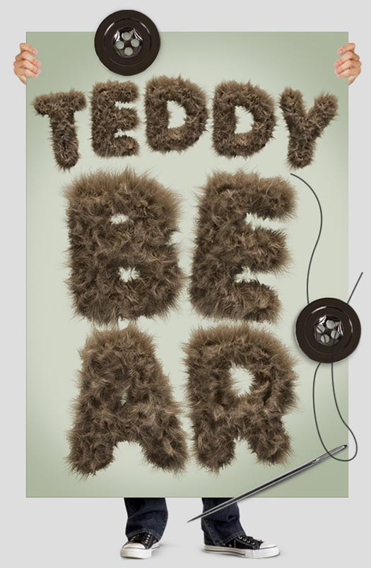 teddy-bear-font