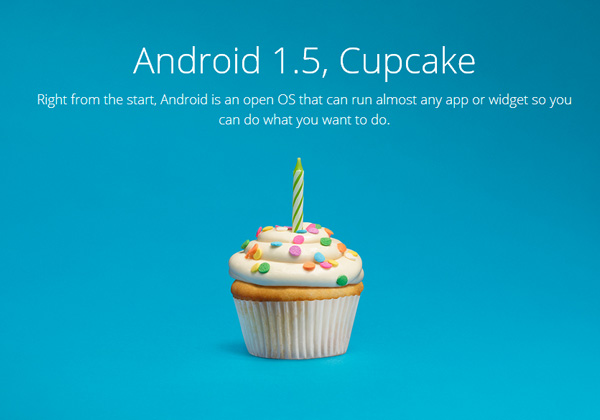 Android-1.5-Cupcake
