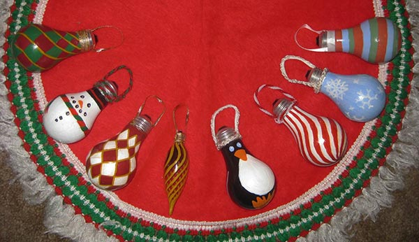Bulb-christmas-ornament-Ideas