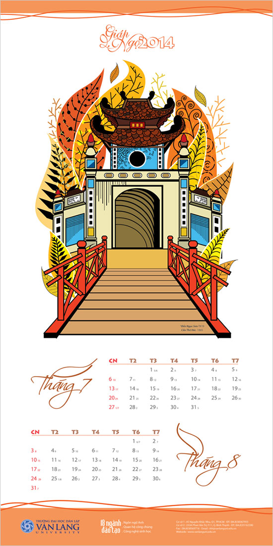 Calendar Cover Design 2014 : New year wall desk calendar designs for inspiration