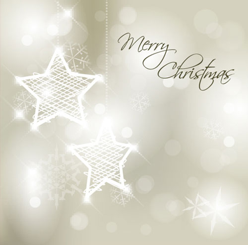 free merry christmas card design template