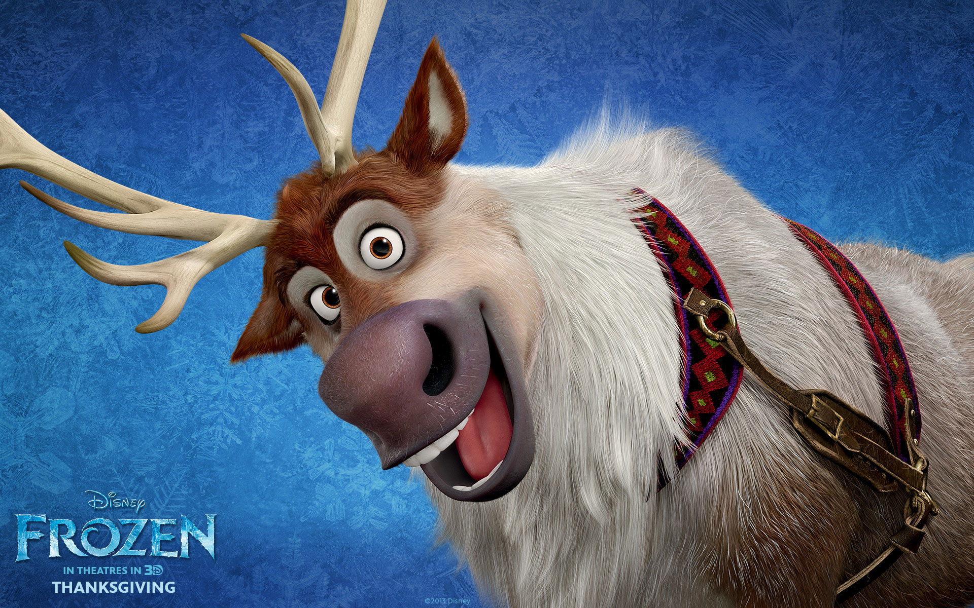 Frozen 2013 Movie Wallpapers [HD] & Facebook Timeline ... Disney Frozen Sven Wallpaper