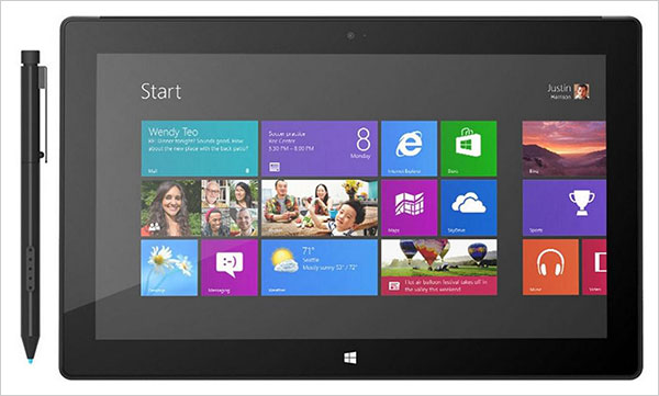 Microsoft Surface Pro Tablet 128 GB Memory 4 GB RAM Windows 8 Pro Top 10 New Technology Gadgets of 2013