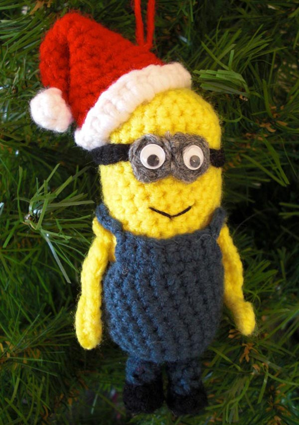Minion-Christmas-Ornament