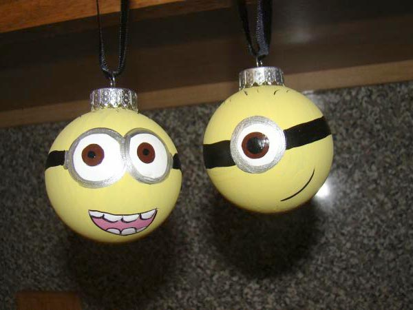 Minion-Christmas-Ornaments