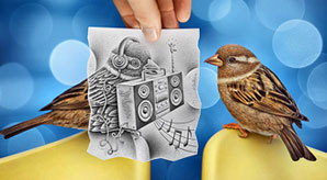 New-Creative-Art-by-Ben-Heine-Pencil-vs-Camera