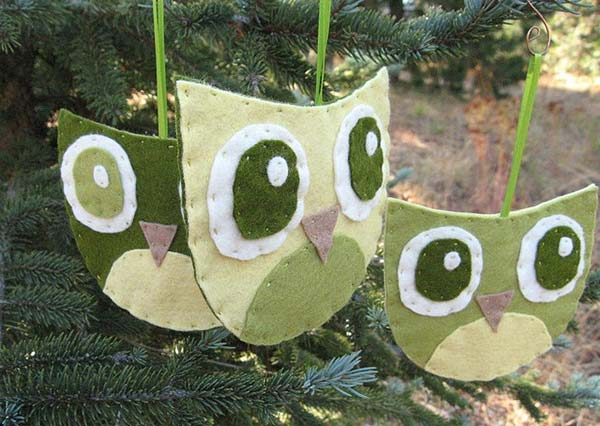Owl-Ornaments