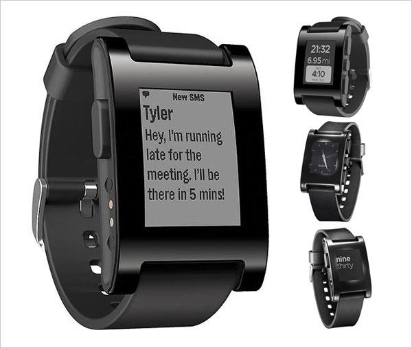 Pebble E Paper Watch for iPhone and Android Top 10 New Technology Gadgets of 2013